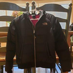 ❄️❄️Girls North Face 550 Jacket- 14/16- Black❄️❄️